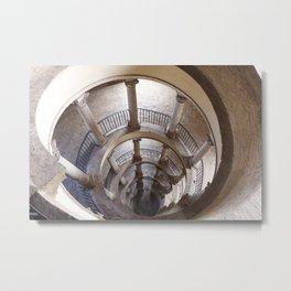 Original Bramante Staircase Metal Print