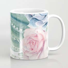 Cactus Rose Succulents Garden Coffee Mug