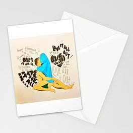 Love it all out Stationery Cards