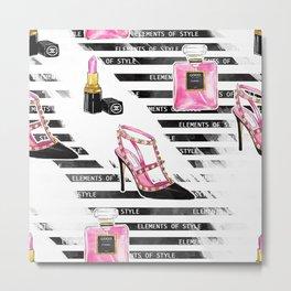 Perfume & Shoes #3 Metal Print