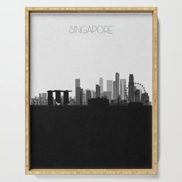 City Skylines: Singapore Serving Tray