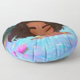 Magical Lagoon Floor Pillow