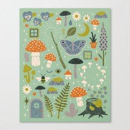 Fairy Garden Canvas Print