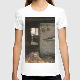 Cellar Interior By Johan Hendrik Weissenbruch | Reproduction T-shirt