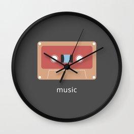 Retro Cassette Wall Clock