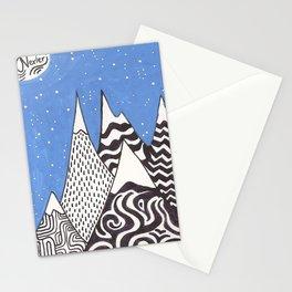 AUX PIEDS DES MONTAGNES Stationery Cards