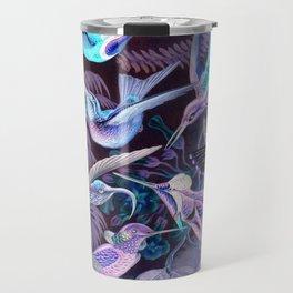 Ode to Haeckel's Hummingbirds Travel Mug