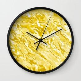 Wet paint art Wall Clock