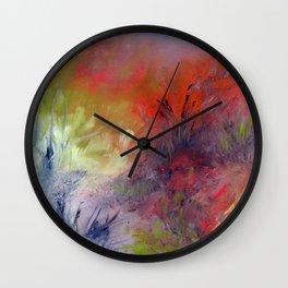 Parmi les herbes Wall Clock