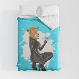 Latex Cow Got Milk Duvet Cover