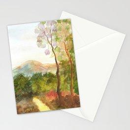 Paisaje de otoño Stationery Cards