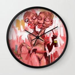 MANYA MANYA KE Wall Clock