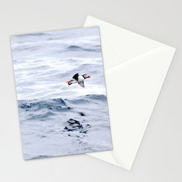 Puffin Flying Stationery Cards