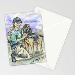 AJ & Gunner Stationery Cards