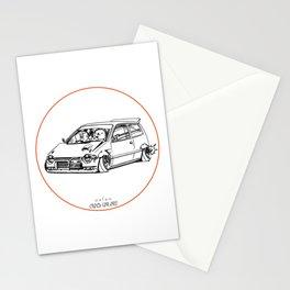 Crazy Car Art 0211 Stationery Cards