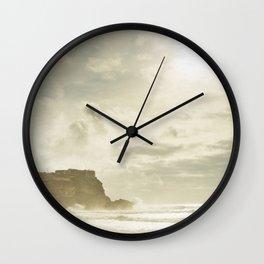Surf #4 - Nazaré Wall Clock