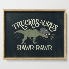 Truckosaurus Serving Tray