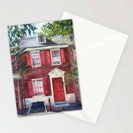 130 Elfreths Alley in Philadelphia Stationery Cards