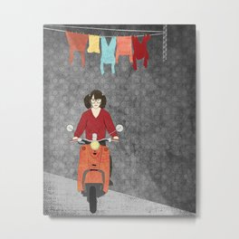 Scooter Metal Print