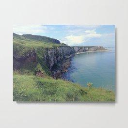 Ireland | Irish Coast Landscape | Nadia Bonello Metal Print