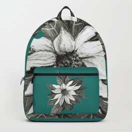 Florida Flower with Green Background Backpack