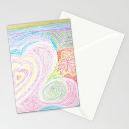 Cheery Pastels Stationery Cards
