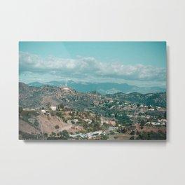 Hollywood Views Metal Print
