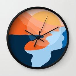 Trolltunga Fjord Norway Souvenir Gift Wall Clock