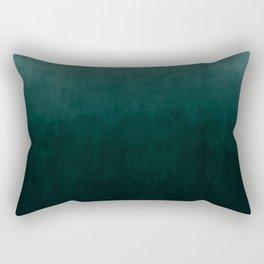 Ombre Emerald Rectangular Pillow