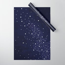 Starry Night Sky Wrapping Paper
