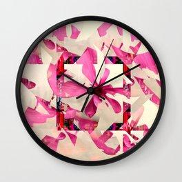 framed p1 Wall Clock