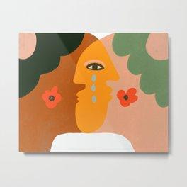 A kiss from his boyfriend Metal Print
