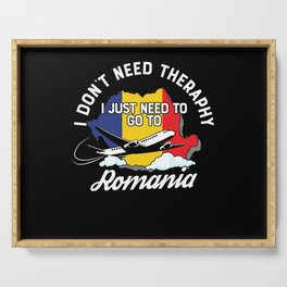 Romania flag I Romanian Souvenirs Serving Tray