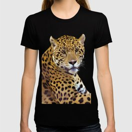 Jaguar At Rest - Big Cat Art T-shirt