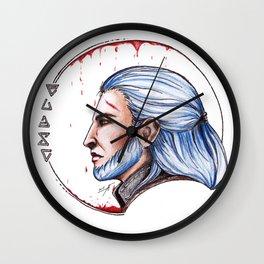Geralt Wall Clock