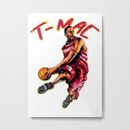 T mac SlamDunk Metal Print