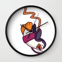 Bungee Jumping Bungee Jumping Gift Fall Jump Wall Clock