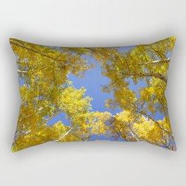 Golden Hour in Aspen Colorado / Maroon Bells Rectangular Pillow