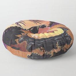 Tar Pits Floor Pillow