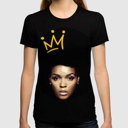 Janelle Monae vector illustration T-shirt