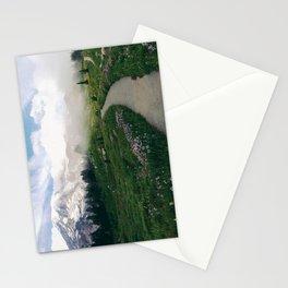 Mt Rainier Path Stationery Cards