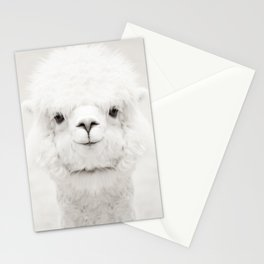SMILING ALPACA Stationery Cards