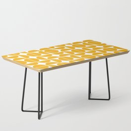 Mid Century Modern Geometric 04 Yellow Coffee Table