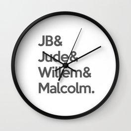 A LITTLE LIFE BOOK Wall Clock