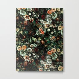 Night Garden VI Metal Print