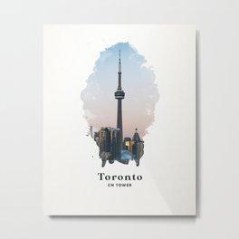 Toronto CN Tower Metal Print