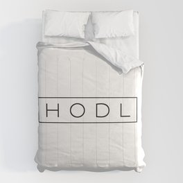 HODL   Modern   HODL Collection 2020 Comforters