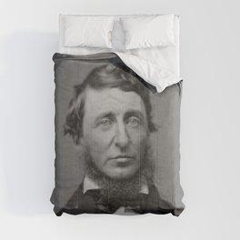 Benjamin Maxham - portrait of Henry David Thoreau Comforters