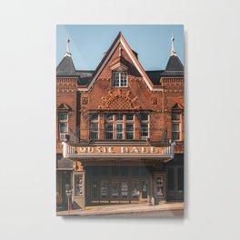 Music Hall, Tarrytown Metal Print