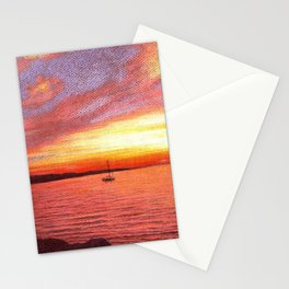 SUMMER SUNSET Stationery Cards